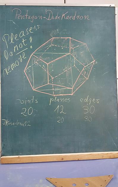 Grundlagen-Kurs Projektive Geometrie im Rahmen der Ärzteausbildung in Thailand