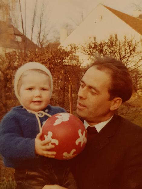 Georg mit einem seiner Patenkinder