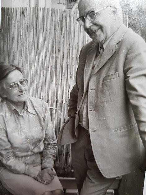 Die guten Freunde und Kollegen Annie und Paul Höll
