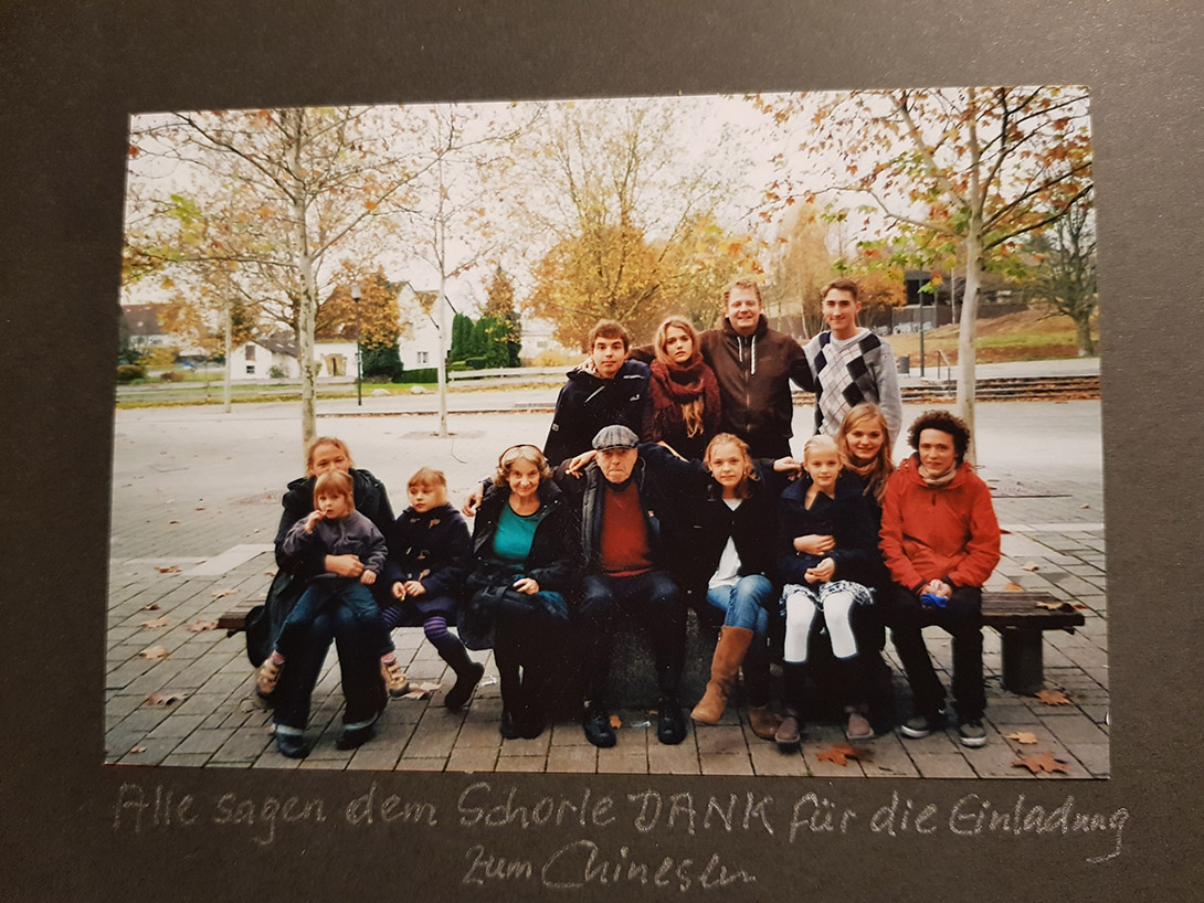 Georg liebte es, die Familie von Mackensen bei seinen Besuchen einmal vom Hofweg zu locken ins chinesische Restaurant …