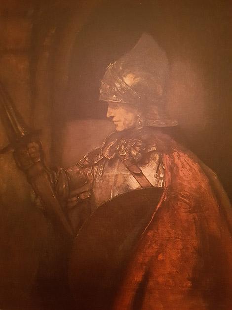 Rembrandt junger Soldat
